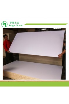 White Melamine Paper Faced Plywood