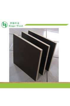 Black Film Faced Poplar Plywood for Construction